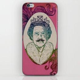 UK Queen iPhone Skin