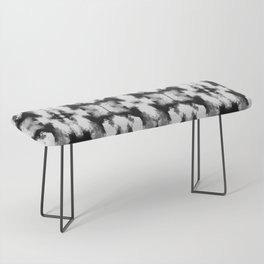 Tie Dye Blacks Bench