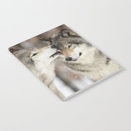 Wolf Kisses Notebook