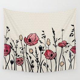 Summer Field (neutral remix) Wall Tapestry