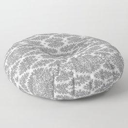Neutral Damask Floor Pillow