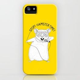 Hamster singing MC Hammer | Animal Karaoke | Yellow iPhone Case