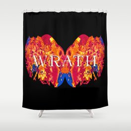 The Seven deadly Sins - WRATH Shower Curtain
