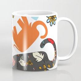 Elephants pattern #4SD Coffee Mug