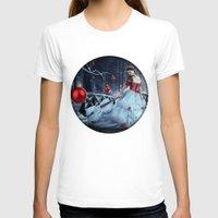xmas T-shirts featuring Xmas Night by JuliSnowWhite