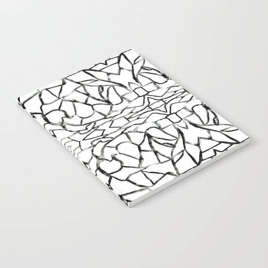 Abstract pattern 91A Notebook