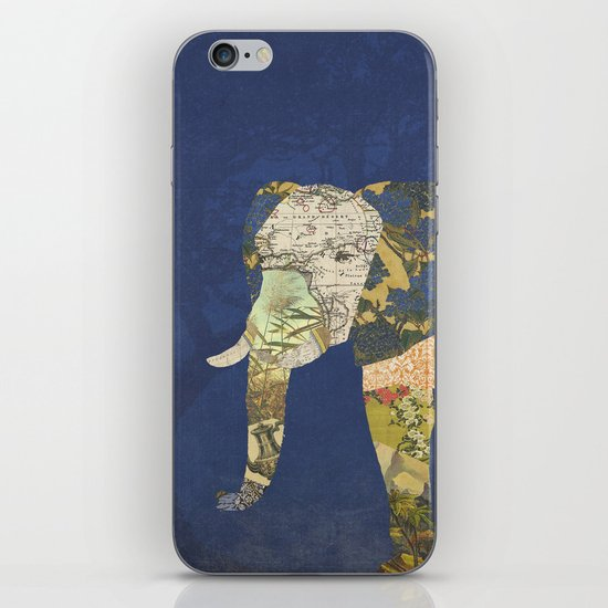 Elephant - The Memories of an Elephant iPhone & iPod Skin