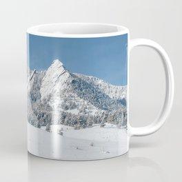 Snowy Flatirons Coffee Mug