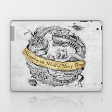 Harry's Map Laptop & iPad Skin