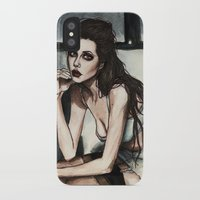 angelina jolie iPhone & iPod Cases featuring Angelina Jolie by vooce & kat