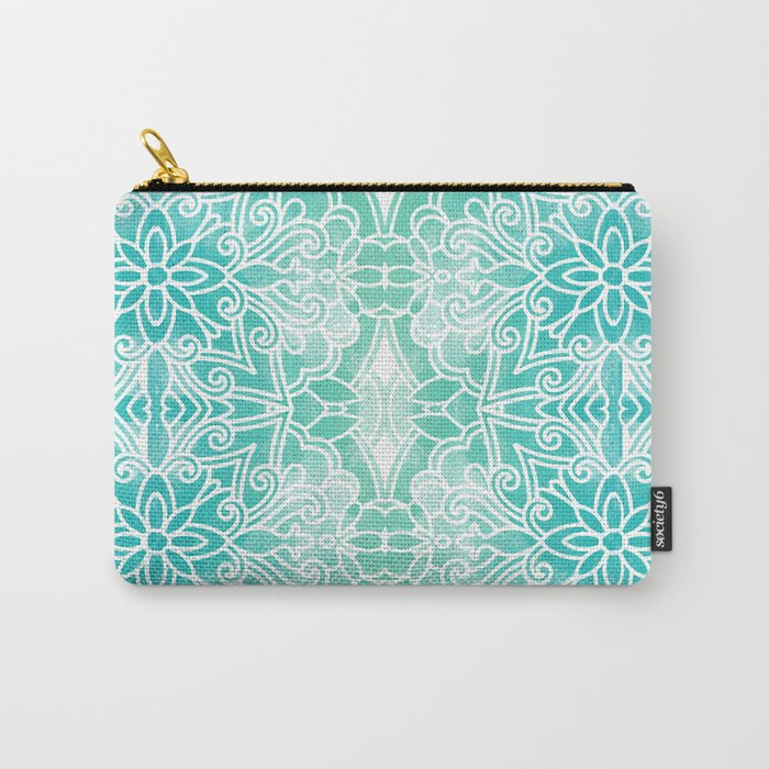 Water Mandala Carry-All Pouch