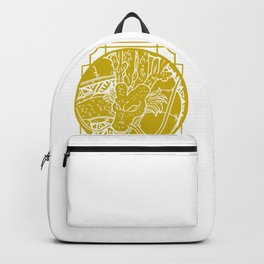 Stained Glass - Dragonball - Shenron Backpack