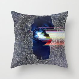 Brutality Throw Pillow