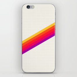 VHS Rainbow 80s Video Tape iPhone Skin