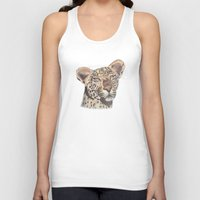 leopard Tank Tops featuring leopard by becbugs