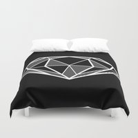 diamond Duvet Covers featuring Diamond by stephanie nichole