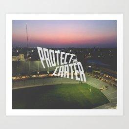 Protect the Carter Art Print