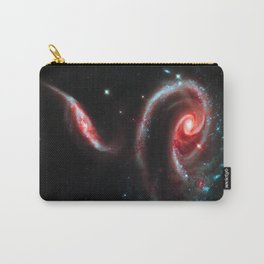 Galaxy Rose Red Carry-All Pouch