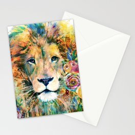 Garden of the Wild ~ LION Stationery Cards