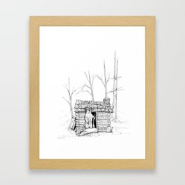 Grizz Lee Framed Art Print