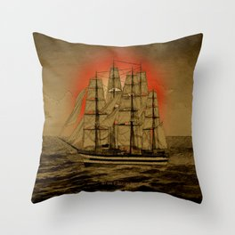 Set Sail - 001 Throw Pillow