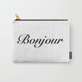 bonjour Carry-All Pouch