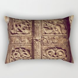 Doors Of Rajasthan 3 Rectangular Pillow
