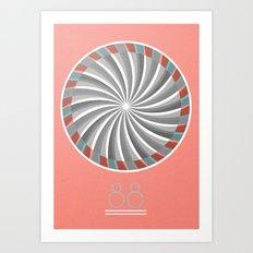 88 Art Print