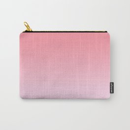 Pastel Ombre Rose Color Gradient Millennial Pink Lilac Cute Pattern Carry-All Pouch
