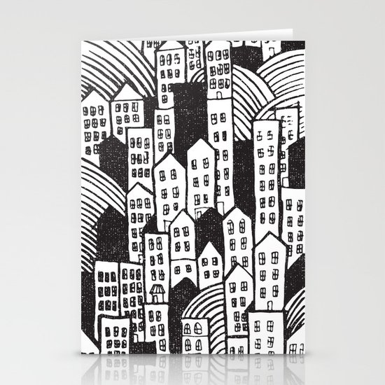 SPRAWL Stationery Cards