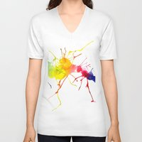 passion V-neck T-shirts featuring passion  by Shakkedbaram
