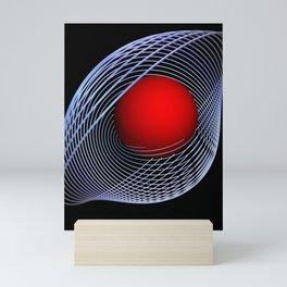 games with geometry -13- Mini Art Print