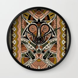 Botanical Print III Wall Clock
