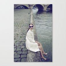 Paris Vintage 1 Canvas Print