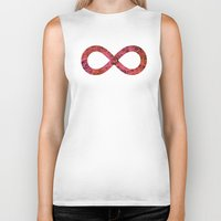infinity Biker Tanks featuring Infinity by Philippa K