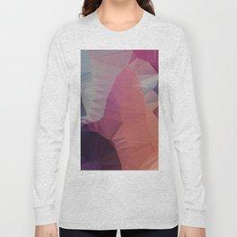 Flower / Poster, scandinavian, art, art print, geometric, pastel, friends, love, summer, Christmas Long Sleeve T-shirt
