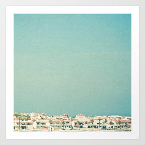 Mediterranean Skyline Art Print