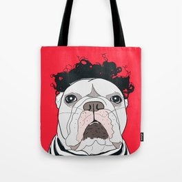 Venice Bulldog Tote Bag