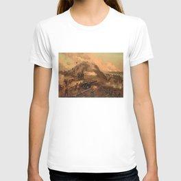 Civil War Capture of Fort Fisher by J.O. Davidson T-shirt
