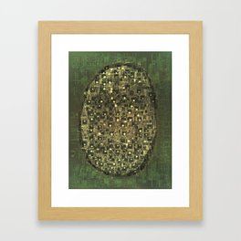 Planetarium / Stellar Map Framed Art Print