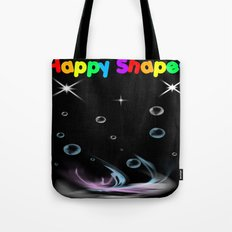 Happy Shapes Tote Bag