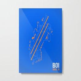 BOI Metal Print