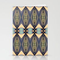 art deco Stationery Cards featuring Art-deco by I-lin