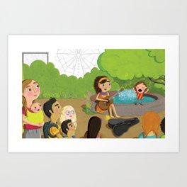 Small - Sing Big Art Print