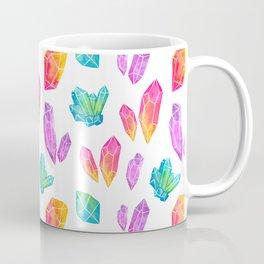 Watercolor Crystals Coffee Mug