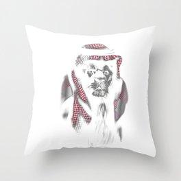 Lion Sheik Throw Pillow