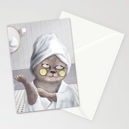 Roll My Eyes Stationery Cards