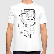 Knowledge Mens Fitted Tee White MEDIUM