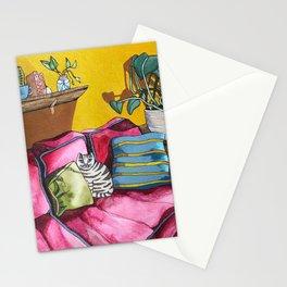 CAT'S LIVINGROOM Stationery Cards