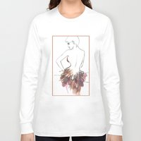chic Long Sleeve T-shirts featuring Chic by Sarah Soh